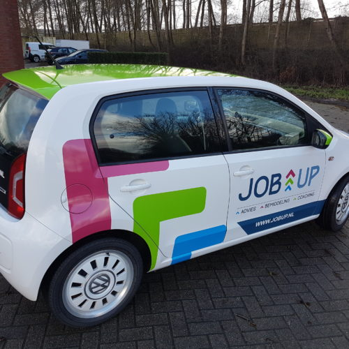 Autoreclame met carwrap | JobUp