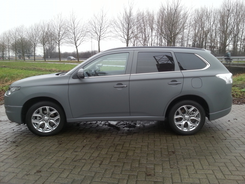 Carwrap Mitsubishi Outlander