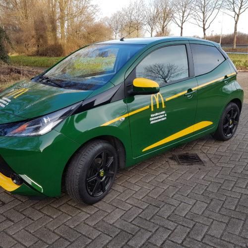 Carwrappen | Toyota Aygo